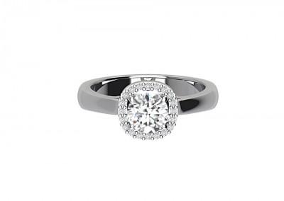 CSM002 Vintage Solitaire Engagement Ring