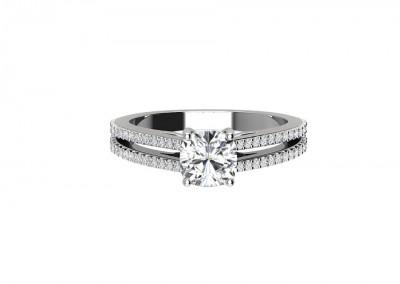 CSR007 Split Shank Engagement Ring