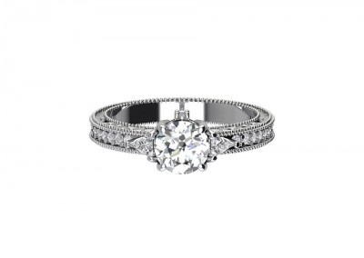 DDF VINTAGE DIAMOND RING