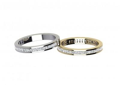 ETR007 Classic Diamond Set Eternity Ring