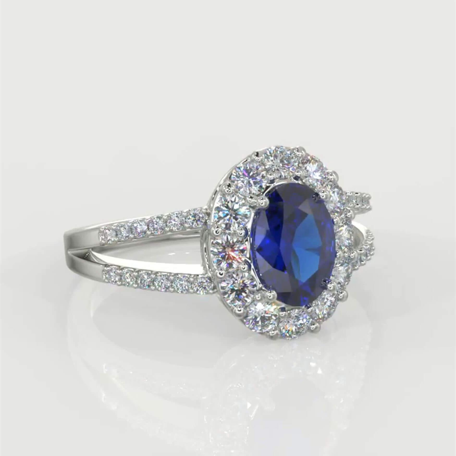 STan Sapphire Split Shank REF DDFEV014